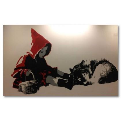 Αφίσα (κοκκινοσκουφίτσα, νεράιδα, ιστορία, μύθος, παραμύθι)
